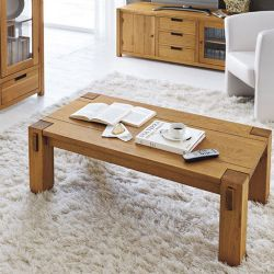 Elephant Oak Coffee Table